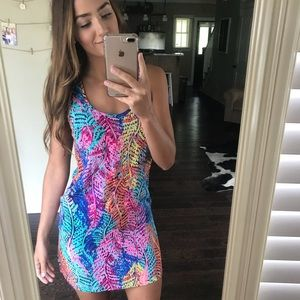 EUC Lilly Pulitzer Betty Dress in Electric Feel